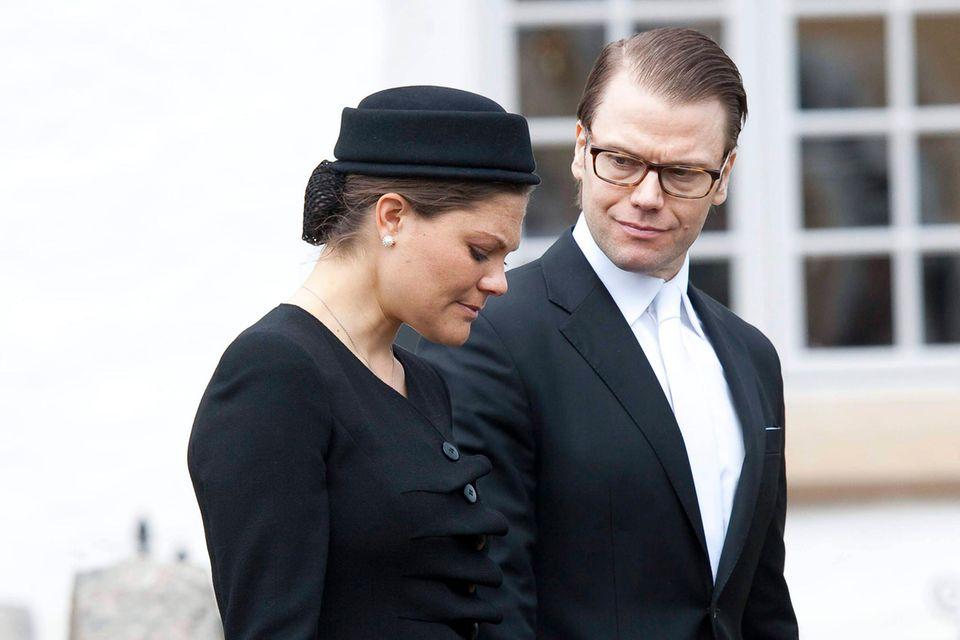 Prinzessin Victoria und Prinz Daniel trauern um Ari Behn(†47)