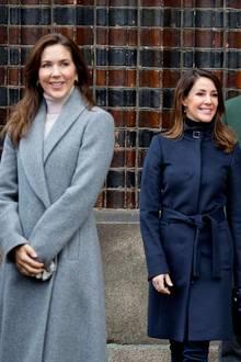25. Dezember 2019  Auch Prinzessin Marie und ihr Mann Prinz Joachim haben sich dem Weihnachtsgottesdienst im Kreise der Familieangeschlossen.