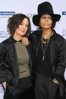 Sara Gilbert + Linda Perry