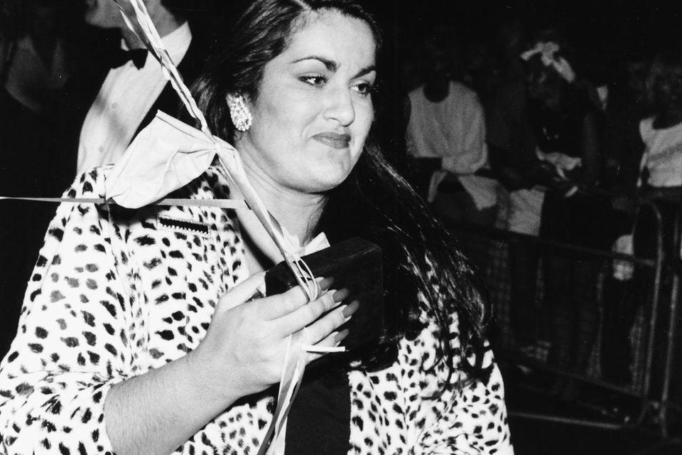 Melanie Panayiotou, die Schwester von George Michael