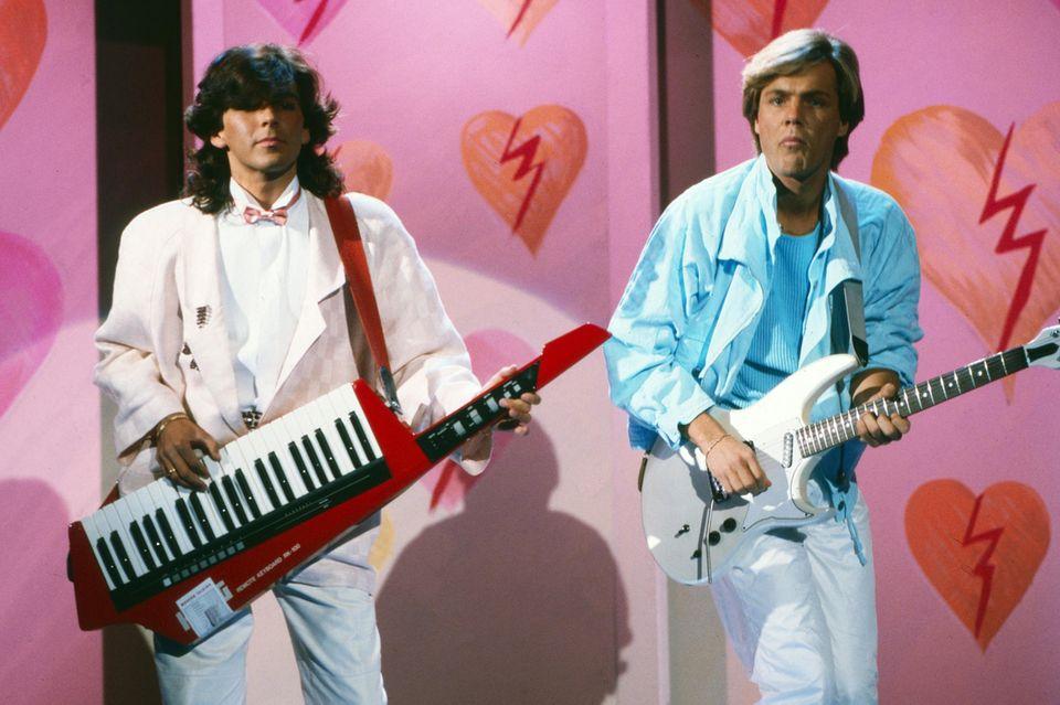 Thomas Anders und Dieter Bohlen waren jahrelang Modern Talking