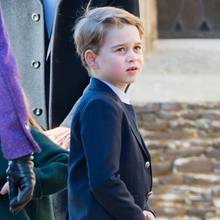 Prinz George in Sandringham