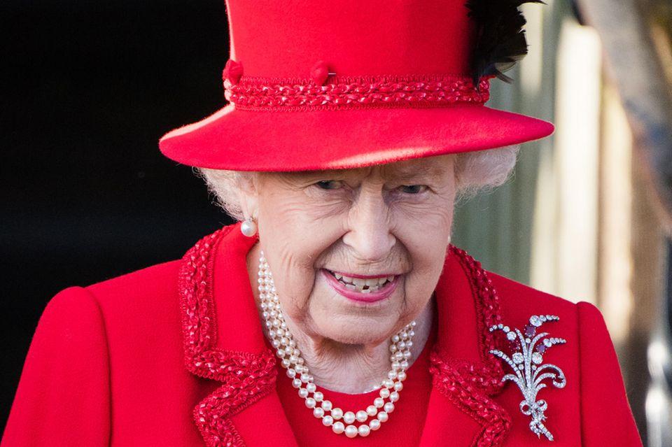 Queen Elizabeth änderte kurzfristig ihre goldene Regel