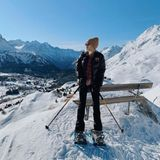 Auch Influencerin Caro Daur macht in Sankt Moritz eine gute Figur.