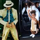 North West, die kleine Tochter von Kim Kardashian und Kanye West, spielt zukünftig mit der legendären Gaderobe des King of Pops.