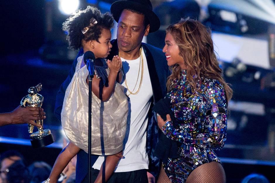 Blue Ivy Carter, Jay-Z und Beyoncé