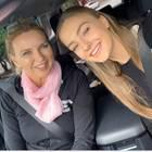 Veronica Ferres und Lilly Krug