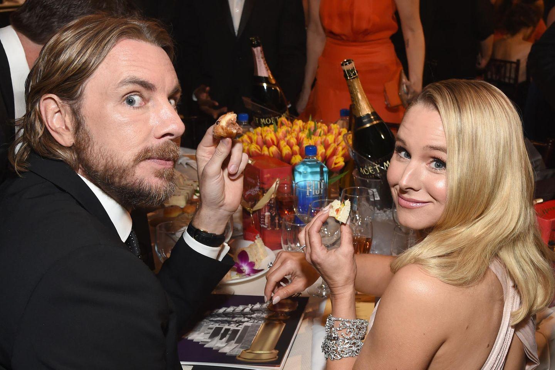 Dax Shepard und Kristen Bell bei den Golden Globes 2019