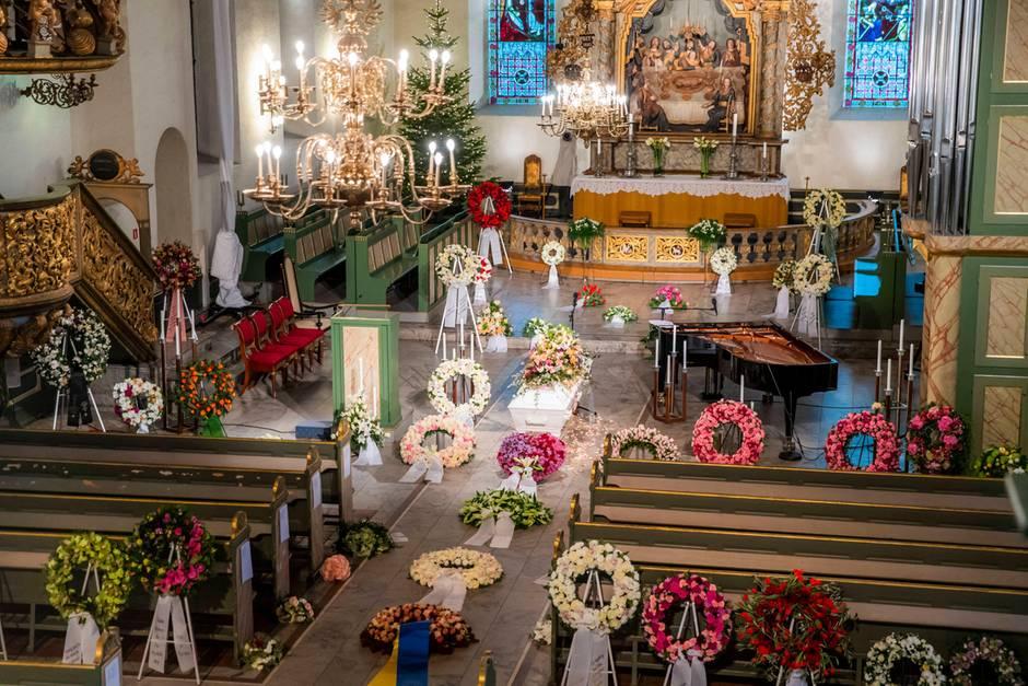 Die Osloer Domkirche, in dem die Trauerfeier für Ari Behn (†) stattfindet.