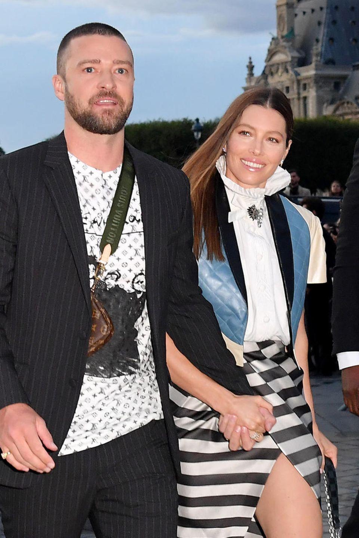 Justin Timberlake und Jessica Biel