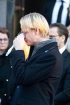Bittere Tränen weint Prinzessin Mette-Marits Sohn Marius.