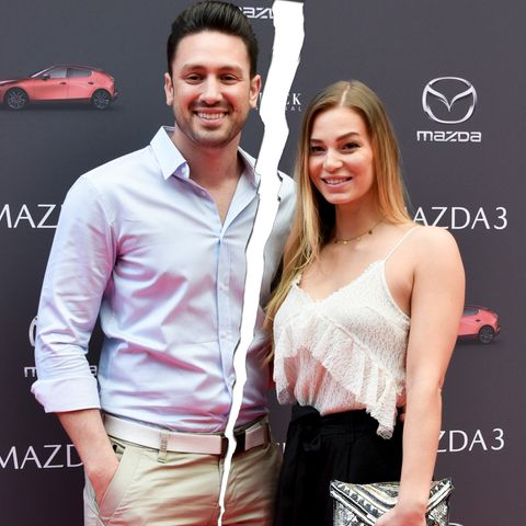 Daniel Völz und Lisa W. sind kein Paar mehr.