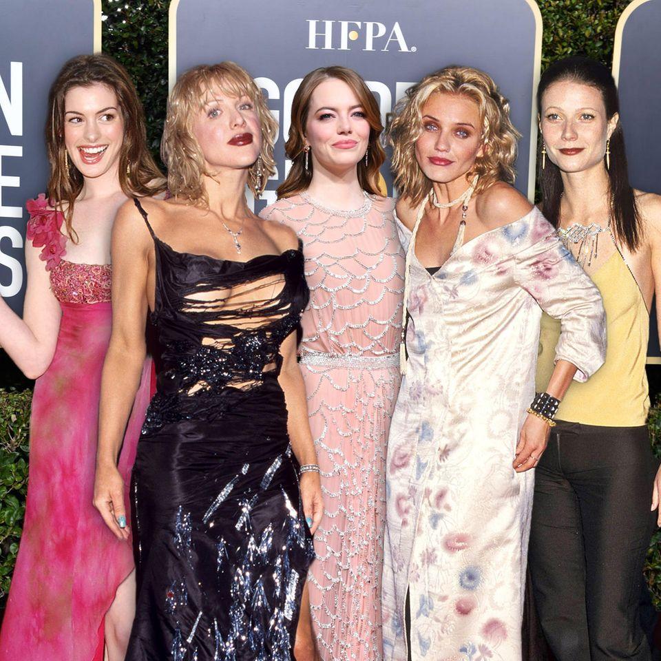 Modesünden auf dem roten Teppich: Das waren die schlimmsten Looks der bisherigen Golden-Globes-Verleihungen.