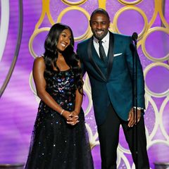 2019 - Isan Elba  Papa Idris Elba platzt fast vor Stolz, mit seiner Tochter Isan gemeinsam auf der Bühne der Golden Globes stehen zu können. Ihrer Mutter Kim, Ex-Frau des Schauspielers ging es sicherlich ganz ähnlich.