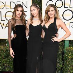 2018 -Sistine, Scarlet und SophiaStallone  Geballte Frauenpower: Gleich drei Misses Golden Globewaren im Jahr nach Beginn der #MeToo-Bewegung auf und hinter der Bühne mit am Werk.