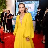 Zoey Deutch gewinnt in ihrem Kleid von Fendi Couture den Preis für das sonnigste Outfit.