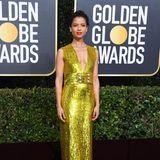 Ganz goldig bei den Golden Globes: Gugu Mbatha-Raw zeigt sich in Gucci