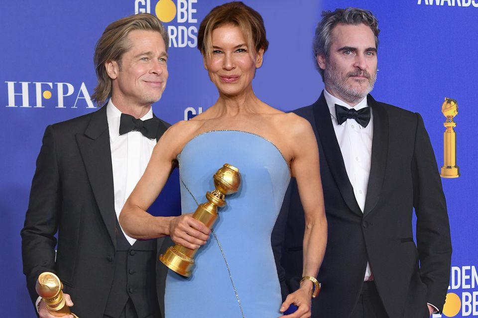Brad Pitt, Renée Zellweger, Joaquin Phoenix