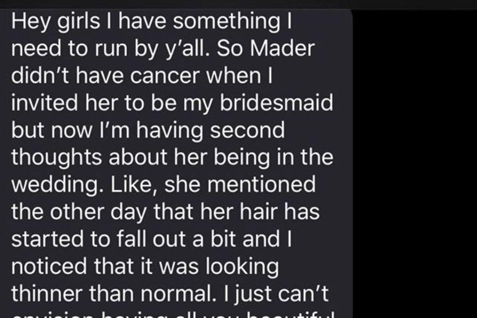 Die unfassbar dreiste Anfrage der Braut erzürnt das Netz