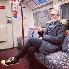 Alan Cumming fährt U-Bahn