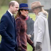 Prinz William, Herzogin Kate, Gräfin Sophie von Wessex