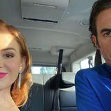 Mit diesem Instagram-Post auf dem Weg zur Verleihung wünscht Isla Fisher ihrer besseren Hälfte, Komiker Sasha Baron Cohen, viel Glück. Der Golden Globe fährt zwar am Ende des Abends nicht mit zurück nach Hause, aber einen schönen Abend verbringt das Paar nichtsdestotrotz.
