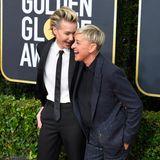 Portia de Rossi und Ellen DeGeneres haben ihre besten Anzüge aus dem Schrank geholt.