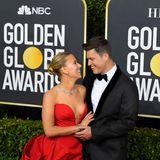 So ein schönes Paar: Scarlett Johansson und Colin Jost.
