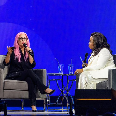 Lady Gaga + Oprah Winfrey
