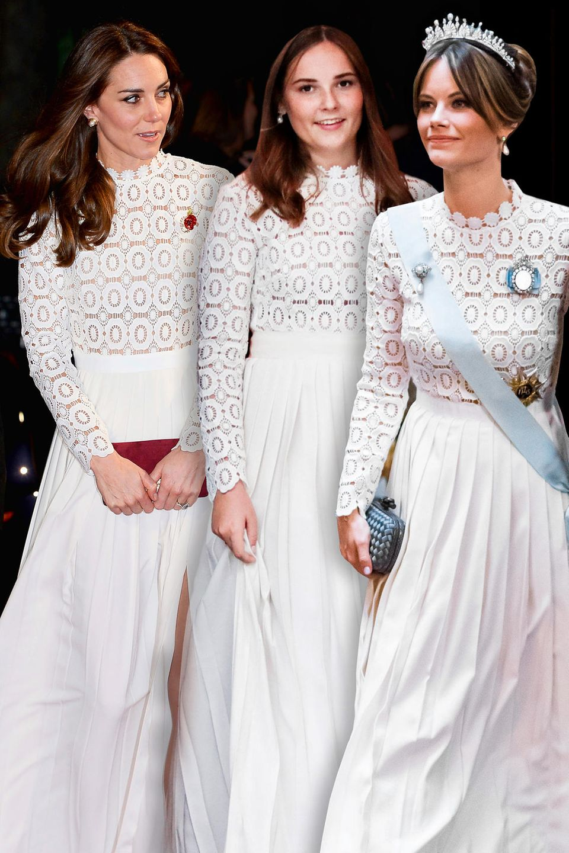 Herzogin Catherine, Prinzessin Ingrid Alexandra, Prinzessin Sofia