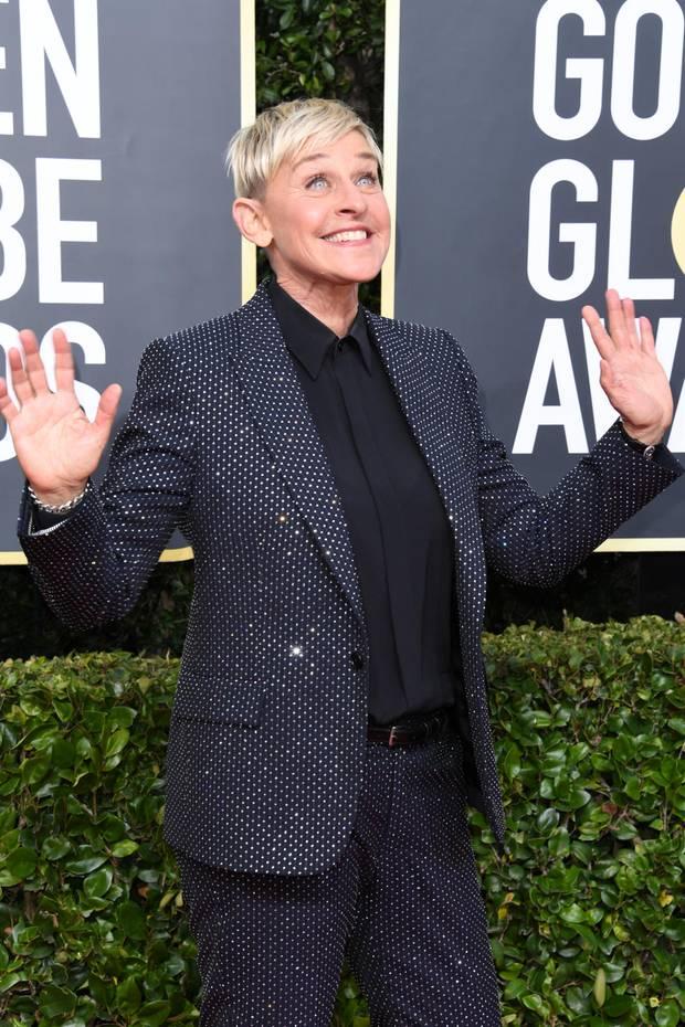Ellen DeGeneres, Moderatorin und TV-Host, Synchronsprecherin (*1958)