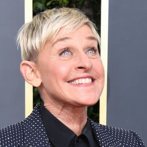 Ellen DeGeneres, Moderatorin und TV-Host, Synchronsprecherin (*1958)