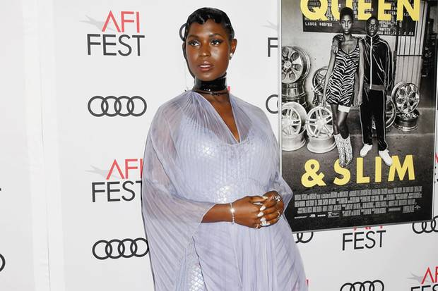 Jodie Turner-Smith mit Babybauch im November 2019.