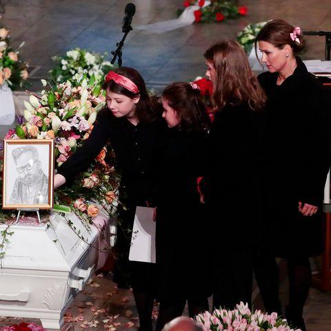 Töchter Maud Angelica,Emma Tallulah, Leah Isadora und Prinzessin Märtha Louise