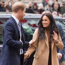 Prinz Harry und Herzogin Meghan am 7. Januar 2019 in London.