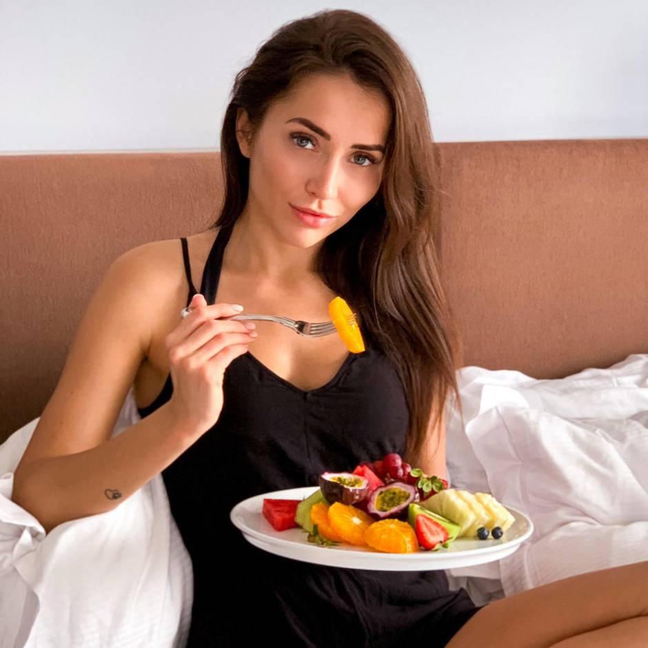 Was Anastasiya Avilova an einem Tag isst