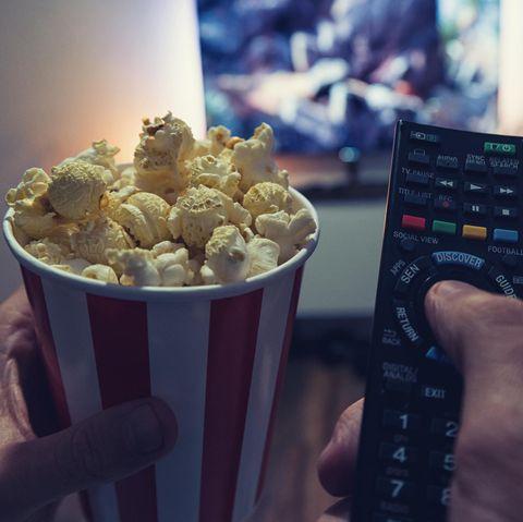 Beim Popcorn-Essen passierte Adam das Unglück(Symbolbild)