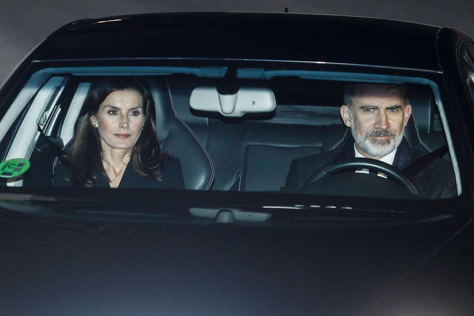 Das spanische Königspaar Letizia und Felipe