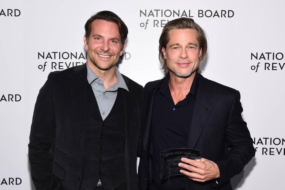 VIP NEws: Kampf gegen Alkoholsucht: Brad Pitt dankt Bradley Cooper