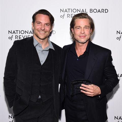 Bradley Cooper + Brad Pitt