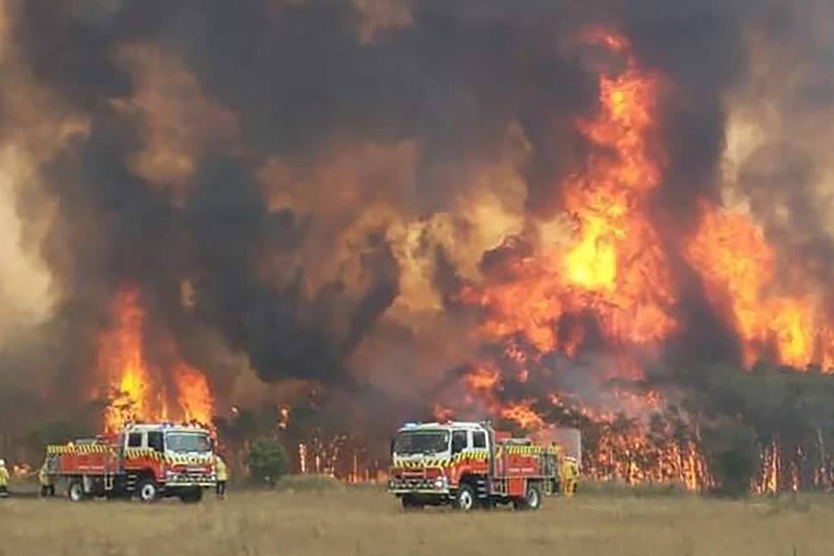 In Australien wüten weiter die Flammen