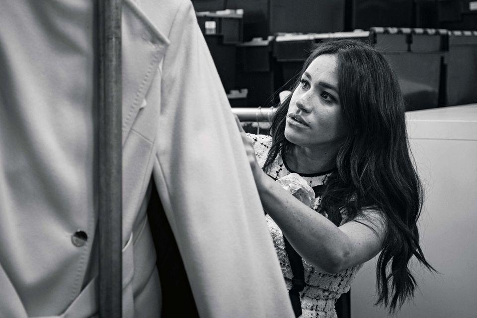 Im September 2019 gestaltete Meghan als Gast-Chefredakteurin die britische Vogue mit.