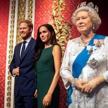 Mexit bei Madame Tussauds: Die Wachsfiguren der königlichen Familie mit Queen Elizabeth, Prinz Harry, Herzogin Meghan und Co. war eine der Hauptattraktionen im berühmten Wachsfigurenkabinettin London. Damit ist jetzt aber Schluss!