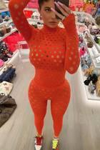 Kylie Jenner in ihrem Kleiderschrank