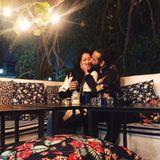 10. Januar 2020  Einen romantischen Abend wie aus 1001 Nacht verbringen die Turteltauben Rebecca Mir und Massimo Sinató inihrem Winterurlaub in Marrakesch.