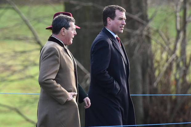 Peter Phillips (r.) ist der Sohn von Prinzessin Anne und ihrem Ex-Ehemann Mark Phillips.