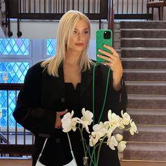 Lena Gercke zeigt ihren Babybauch