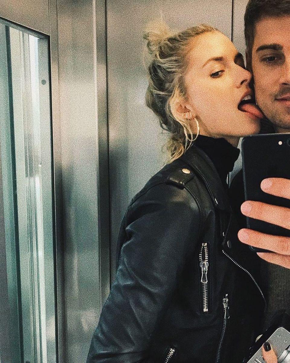 """6. Juli 2019  Das beliebte Modelund ihr Freund teilen ihr Liebesglück gerne mit ihren Fans. Mit diesem Pärchen-Selfie undden Worten""""Young and wild"""" gratuliert Lena Gercke ihrem Liebstenzum Geburtstag."""