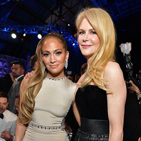 Zwei Hollywood-Größen posieren gemeinsam: Jennifer Lopez und Nicole Kidman