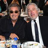 Hollywood-Legenden unter sich: Al Pacino und Robert De Niro
